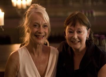 BAFTA member Liz Kristiansen and guest