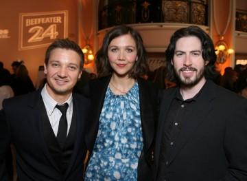 Jeremy Renner, Maggie Gyllenhaal and Jason Reitman