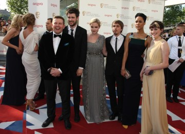 The young cast of Fresh Meat, nominated for the Situation Comedy BAFTA.
