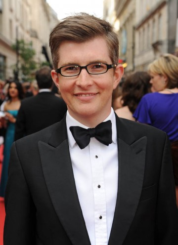 The Choir's Gareth Malone arrives for tonight's awards (BAFTA/Richard Kendal).
