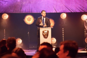 Gravity Falls collects the BAFTA for International at the British Academy Children's Awards in 2015