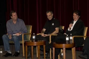 Moderator Patrick Connolly, Daniel Day-Lewis and Director Rob Marshall