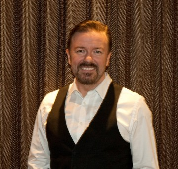 "Ricky Gervais at the screening and Q&A of his new HBO series, ""Life's Too Short"""