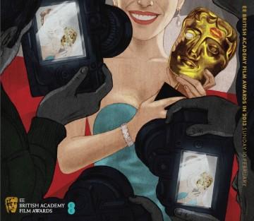 EE British Academy Film Awards Ticket Cover 2013