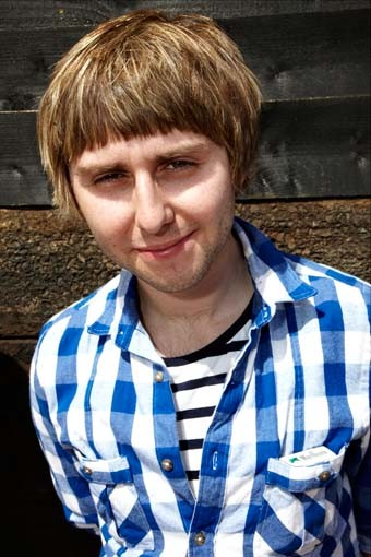 July 18: The Inbetweeners star James Buckley (Picture: Jonathan Birch)