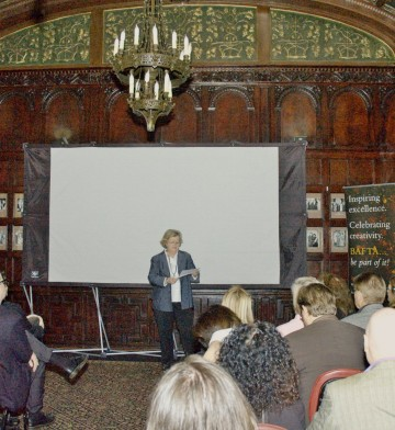 Screening of the four finalists for BAFTA's Situation Comedy Award held at the Friars Club