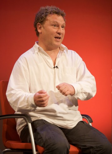 Ashley Pharoah, Emmy-winning writer of Life on Mars and Ashes to Ashes (Image: BAFTA).