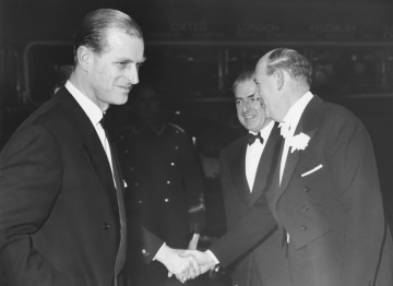 The Duke of Edinburgh was the organisation's first president in 1959, a year after The Society of Film and Television Arts was formed.
