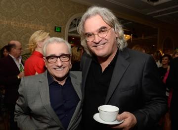 Martin Scorsese and Paul Greengrass at the BAFTA LA 2014 Awards Season Tea Party.