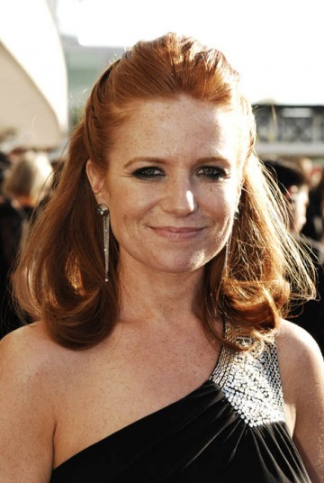 Eastenders star Patsy Palmer arrives at the Television Awards hoping the London-based soap can scoop a Continuing Drama BAFTA after missing out last year (BAFTA / Richard Kendal).