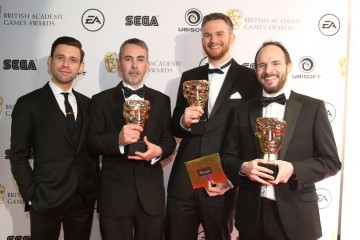 The team behind Batman: Arkam Knight took home the BAFTA for British Game