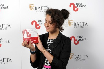Hannah Ord who won Actress for 'Last Night In Edinburgh.'