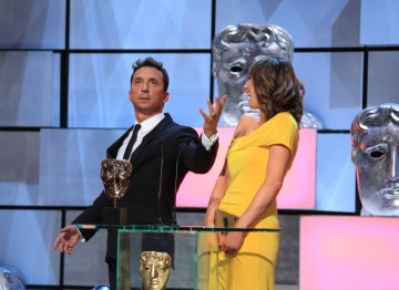 Alex Jones and Bruno Tonioli present the award for Soap & Continuing Drama.