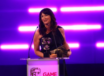 BBC sports presenter Suzi Perry reveals the Audio Achievement winner.
