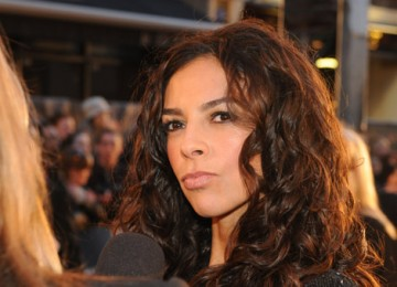 Television presenter Terri Seymour at the Orange British Academy Film Awards in 2008.