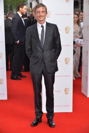 Detectorists star Mackenzie Crook arrives at London's Theatre Royal