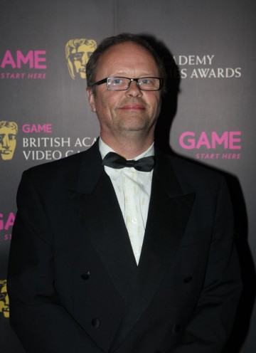 The Red Dwarf star and Carpool presenter is also the voice of News Anchor Perry Flynn for PlayStation Home TV. (Pic: BAFTA/Steve Butler)