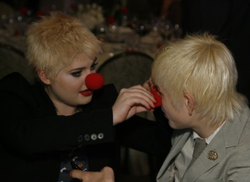 Kelly Osbourne enjoys the festivities