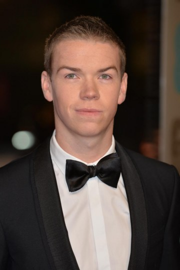 The Revenant actor Will Poulter takes to the red carpet
