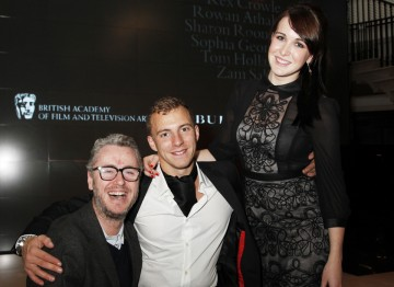 Arthur Williams at Burberry for the Breakthrough Brits event