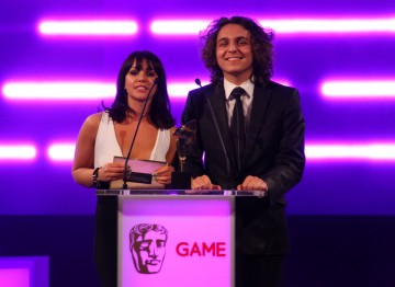 Hollyoaks co-stars Jess Fox and Ashley Margolis announce the student winners of the BAFTA Ones To Watch award in association with Dare To Be Digital.