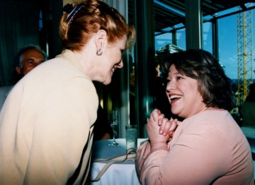 Lynn Redgrave and Kathy Bates