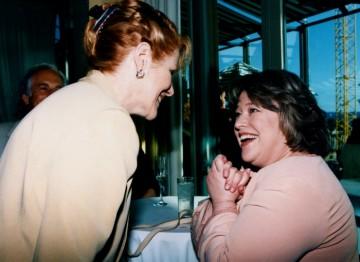 Lynn Redgrave and Kathy Bates