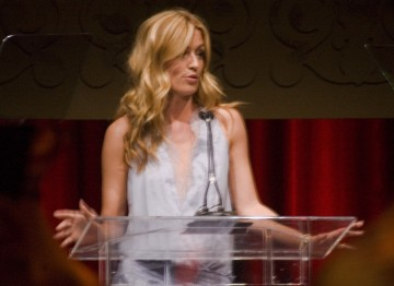 Cat Deeley hosted the evening at the BAFTA Brits to Watch celebration dinner