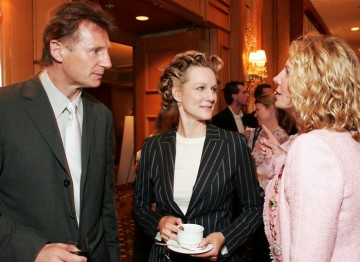 Liam Neeson and Laura Linney