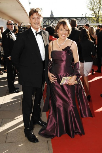Esther Rantzen arrives with partner on the red carpet at the British Academy Television Awards in 2009 (BAFTA / Richard Kendal).