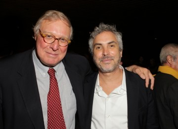 with moderator Gavin Scott. Behind Closed Doors with Alfonso Cuarón. January 8, 2013.