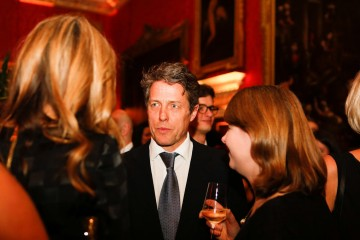 Hugh Grant at the BAFTA Nespresso Nominees' Party at Kensington Palace