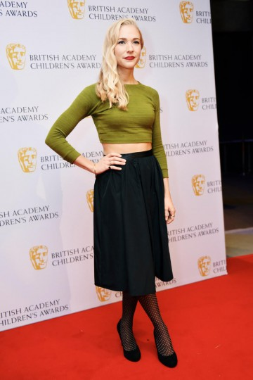 Maddy Hill at the BAFTA Children's Awards 2015 at the Roundhouse on 22 November 2015