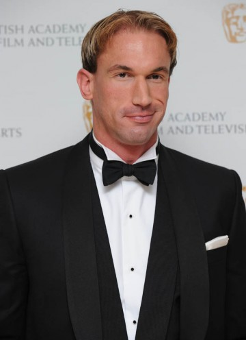 Dr Christian Jessen of Embarrassing Bodies fame poses for the cameras before presenting the Titles Award.