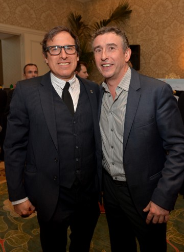 Steve Coogan and director David O. Russell at the BAFTA LA 2014 Awards Season Tea Party.