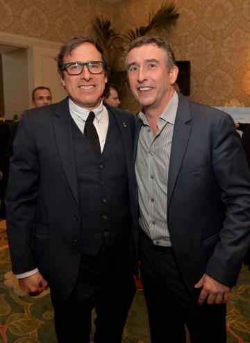 Steve Coogan and director David O. Russell at the BAFTA LA 2014 Awards Season Tea Party.