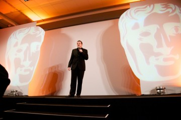 Host Kevin Bridges presenting the 2011 Awards