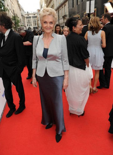 Two time BAFTA nominee Sheila Hancock arrives on the red carpet (BAFTA/Richard Kendal).