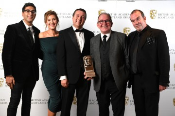 Sanjeev Kohli, Jane McCarry, Michael Hines, Ford Kiernan and Gavin Mitchell, Outstanding Contribution To Television.