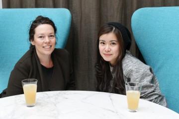 Olivia Colman mentored 2014 Breakthrough Brit Katie Leung