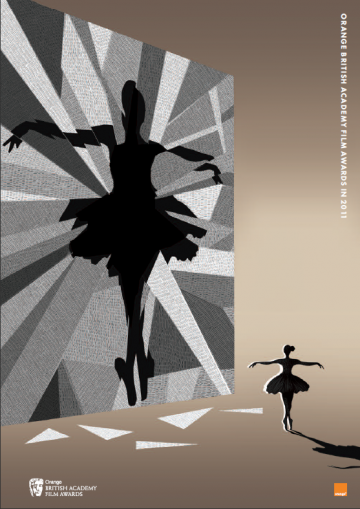Black Swan brochure cover illustration by Adam Simpson