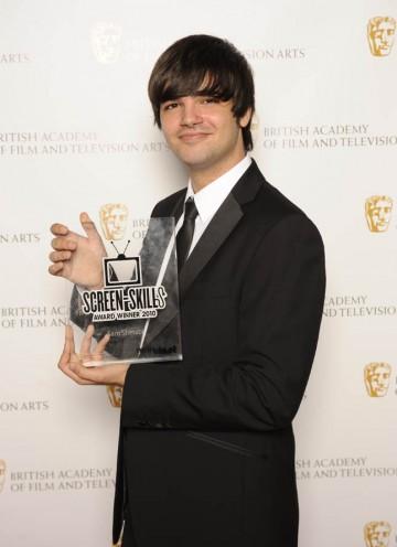 Sam Shetabi, winner of the BBC Blast and BAFTA Screen-Skills Award.