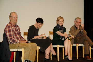 Bill Murray, Olivia Williams, Laura Linney and Writer Richard Nelson