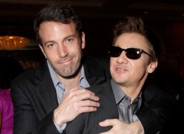 Ben Affleck and Jeremy Renner (The Town)