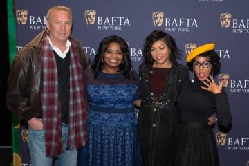 Kevin Costner, Octavia Spencer, Taraji P. Henson, Janelle Monae
