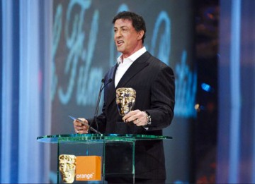 Sylvester Stallone presented Shane Meadows and Mark Herbert a Best British Film BAFTA for This is England.