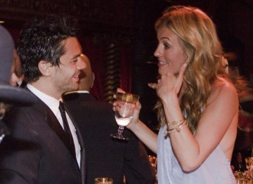 Cat Deeley with Dominic Cooper