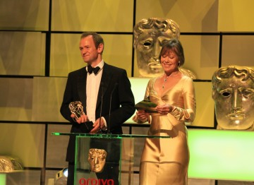 Alexander Armstrong and Jenny Agutter announce the winner for Mini Series.