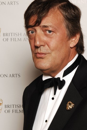Actor and QI presenter Stephen Fry presented the Writer award (BAFTA / Richard Kendal).