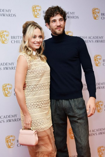 Kimberly Wyatt and Max Rogers at the BAFTA Children's Awards 2015 at the Roundhouse on 22 November 2015